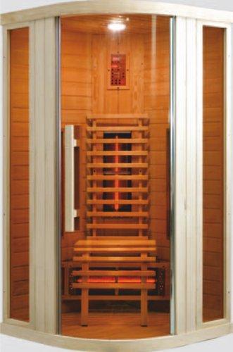 sanotechnik infrarotkabine relax 1 f r eine person infrarotkabine. Black Bedroom Furniture Sets. Home Design Ideas
